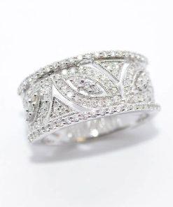 stunning diamond band