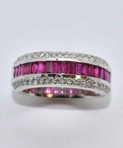 diamond & ruby band