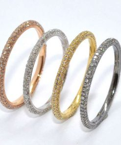 18k eternity bands
