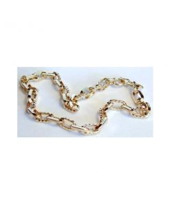 bold oval link necklace
