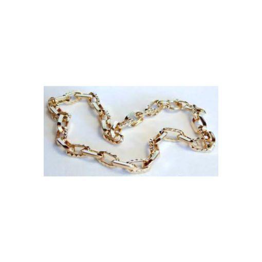 bold oval link necklace