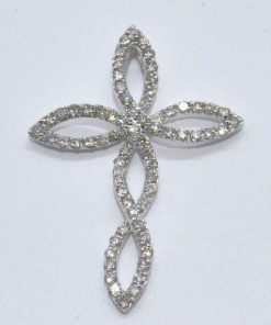 twisted diamond cross