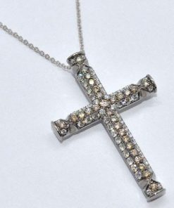 diamond cross 2 rows