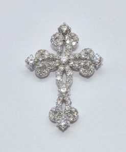 stunning diamond cross