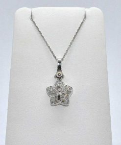 White Gold Diamond Star