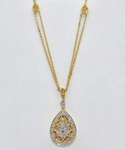 Antique Style Diamond Pendant