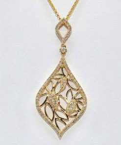 Unique Design Diamond Pendant