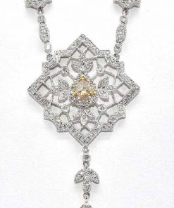 chandlier diamond pendant