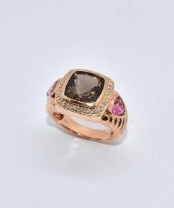 Smokey Topaz Fashion Ring