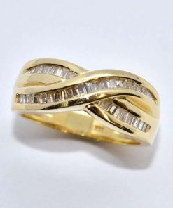 Baguette Diamond Fashion Ring