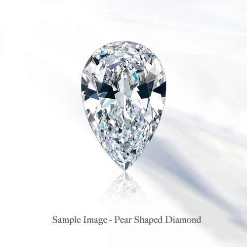 Loose Pear Shaped Diamonds