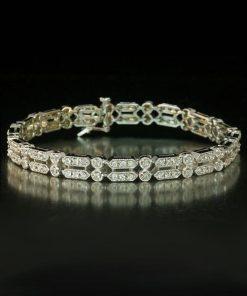 Italian Mesh Filigree Bracelet