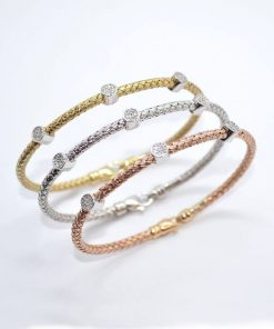 Tri-Color Gold Bracelets