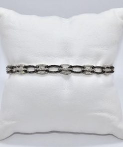 Black & White Diamond Bracelet