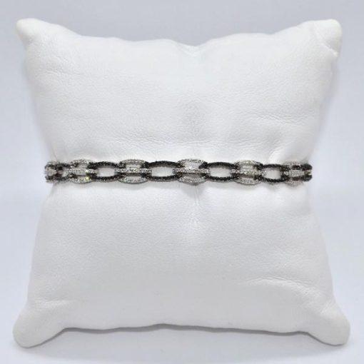 Black & White Diamond Bracelet