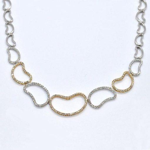 fashion diamond necklace