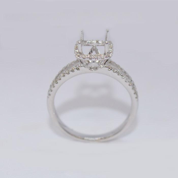 engagement ring mounting 38 ct