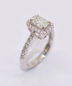 Diamond Engagement RIng GSI2