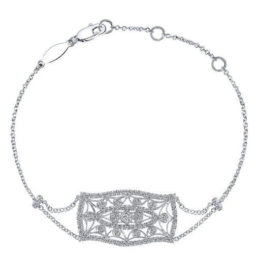 chain diamond bracelet