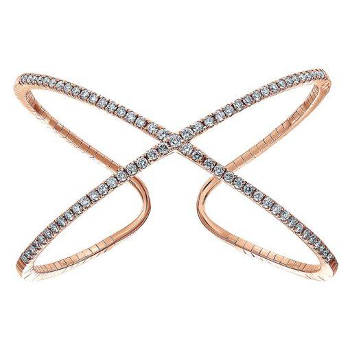 infinity diamond bangle