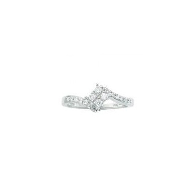 composite cluster diamond ring