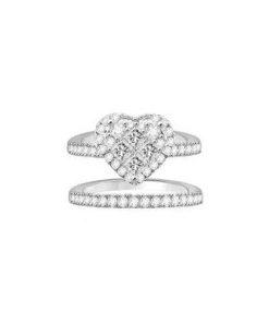 diamond ring & band