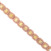 Pink & Yellow Diamond Bracelet